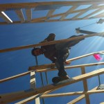 up high - roof trusses